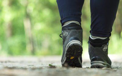 Nieuwe wandelschoenen op maat