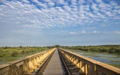 Moerputtenbrug wandelroute; bijzonder en uniek